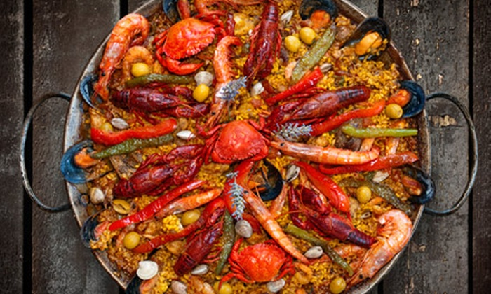 Rhythm Kitchen Seafood & Steaks - Spring Valley: $30 for a Cajun Dinner for Two at Rhythm Kitchen Seafood & Steaks (Up to $60 Value)