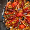 Up to Half Off Cajun Dinner for Two at Rhythm Kitchen Seafood & Steaks