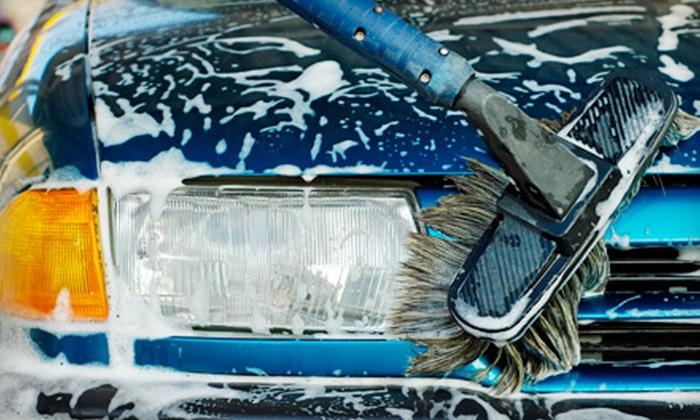 Big G's Express Car Wash - Quarry Oaks: Five Car Washes or One Month of Car Washes at Big G's Express Car Wash in Cedar Park