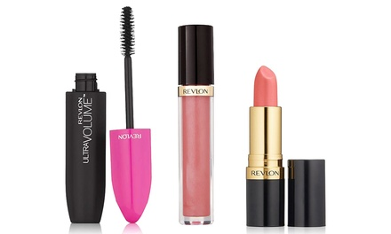 Revlon ThreePiece Mascara and Lip Set