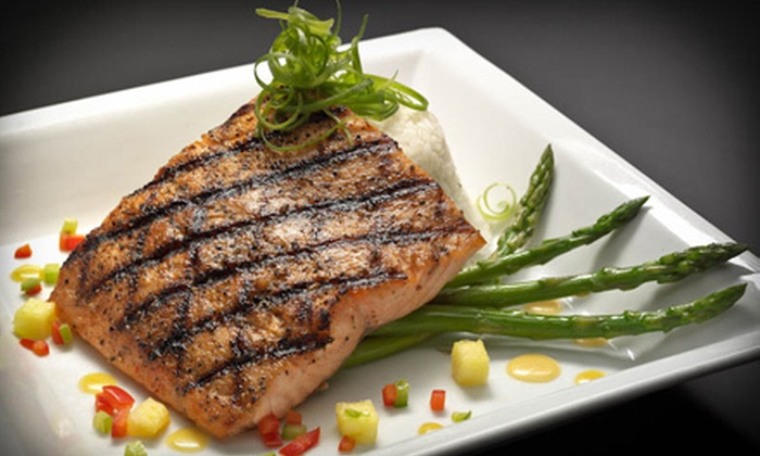 Blue Moose Bar & Grill - Multiple Locations: Casual Dinner for Two or Four at Blue Moose Bar & Grill (Up to 52% Off)