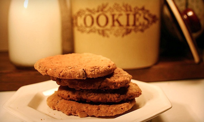 The Cookie Jar Charlotte: Four, Six, or Eight Dozen Home-Delivered Cookies from The Cookie Jar (Up to 59% Off). Ships in 10 to 14 days. May not arrive by 12/24.