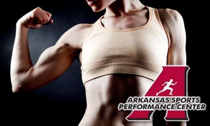 Arkansas Sports Performance Center - John Barrow: $25 for Unlimited One-Month Pass to the AIM Workout Class at Arkansas Sports Performance Center