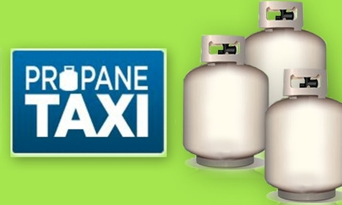 Propane Taxi - Washington DC: $10 for a Propane Tank Exchange from Propane Taxi ($22 Value)