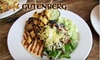 Café Gutenberg - Shockoe Bottom: $10 for $20 Worth of New American Cuisine, Wine, and Beer at Café Gutenberg