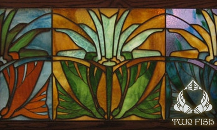 Two Fish Art Glass - Forest Park: $30 for a Make-Your-Own Stained Glass Class from Two Fish Art Glass, Plus 15% Off ($60 Value)