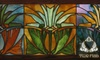 CLOSED Two Fish Art Glass - Forest Park: $30 for a Make-Your-Own Stained Glass Class from Two Fish Art Glass, Plus 15% Off ($60 Value)