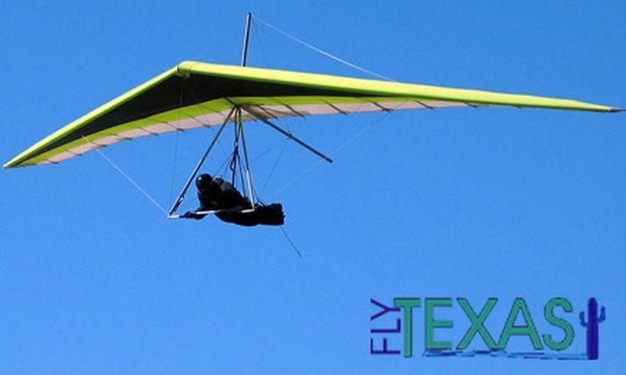 Fly Texas - Luling: $49 for a One-Day Hang-Gliding Lesson at Fly Texas ($99 Value)