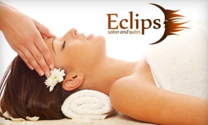 Eclips Salon and Suites - Sioux Falls: $30 for a 60-Minute Swedish, Deep Tissue, or Hot Stone Massage at Eclips Salon and Suites (Up to a $65 Value)