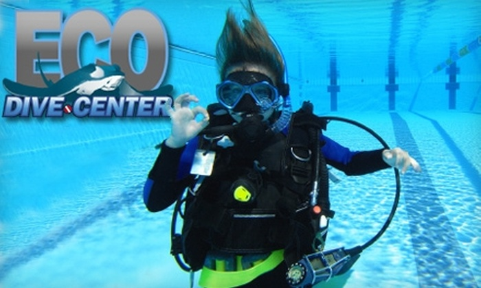 Eco Dive Center - Clarkdale: $49 for a Discover Scuba-Diving Class from Eco Dive Center in Culver City ($99 Value)