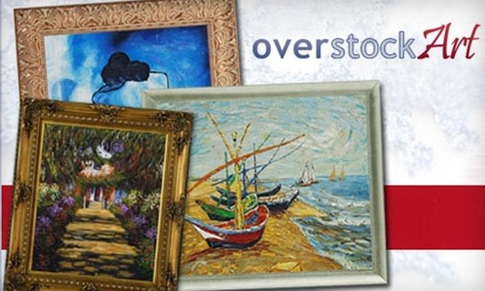 overstockArt.com: $99 for $200 Worth of Hand-Painted Art from OverstockArt.com