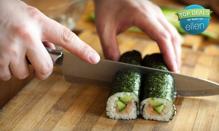 I Wish Lessons - Multiple Locations: Sushi-Making Class for One, Two, or Four at I Wish Lessons (Up to 59% Off)