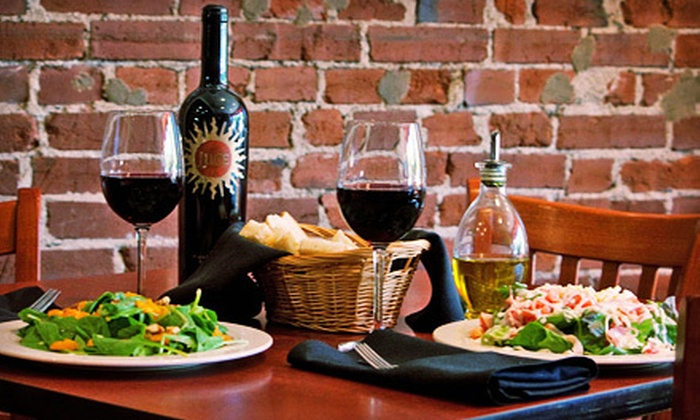 Ricardo's Italian Cafe - Ricardo's Italian Cafe: $25 for an Italian Dinner for Two with Wine at Ricardo's Italian Café (Up to $57 Value)