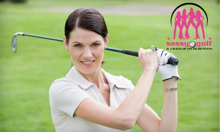 Sassy Golf: $129 for One-Year Membership, 45-Minute Golf Lesson, Dimension Z Wedge, and $10 Gift Card at Sassy Golf ($398 Value)