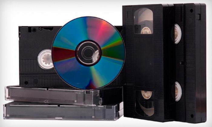 Advanced Media - Hollywood: $25 Worth of Media Transfers