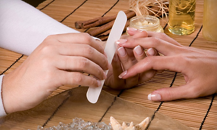 Nail Studio - Carpenter: Full-Service Manicure, Shellac Manicure, Gel-Powder Manicure, or Mani-Pedi at Nail Studio (Up to 67% Off)