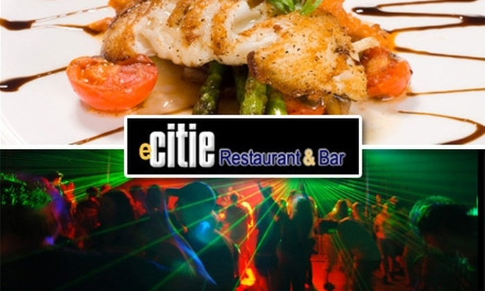 Ecitie - Providence: $10 for $20 Worth of Food & Drinks at eCITIE Restaurant & Bar