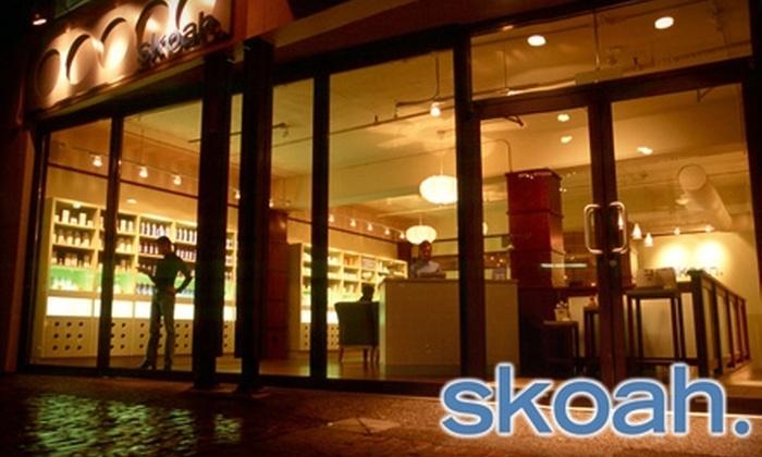 skoah - Haysboro: $52 for a Customized Facialiscious Facial at skoah