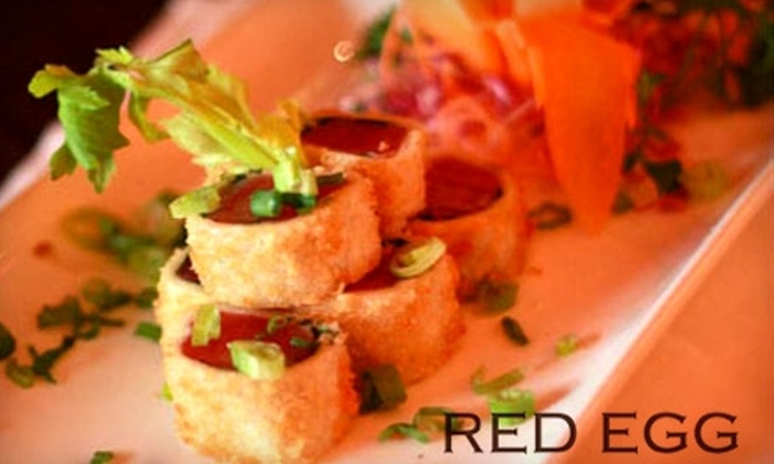 Red Egg - Little Italy: $15 for $30 Worth of Dim Sum and Chinese Fare at Red Egg in Chinatown