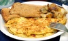 Shaker's Café and Restaurant - Grafton Hill: Breakfast Fare or BYOB Seafood and Pasta Dinner at Shaker's Café and Restaurant (Up to 58% Off). Three Options Available.