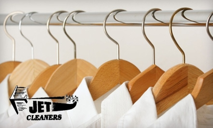 Jet Cleaners - Wooster Square / Mill River: $10 for $50 Worth of Pick-Up/Delivery Dry Cleaning or $10 for $25 Worth of Drop-Off Dry Cleaning at Jet Cleaners in New Haven