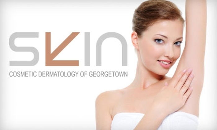 Skin Cosmetic Dermatology of Georgetown - Washington DC: $99 for Three Laser Hair-Removal Treatments at Skin Cosmetic Dermatology of Georgetown