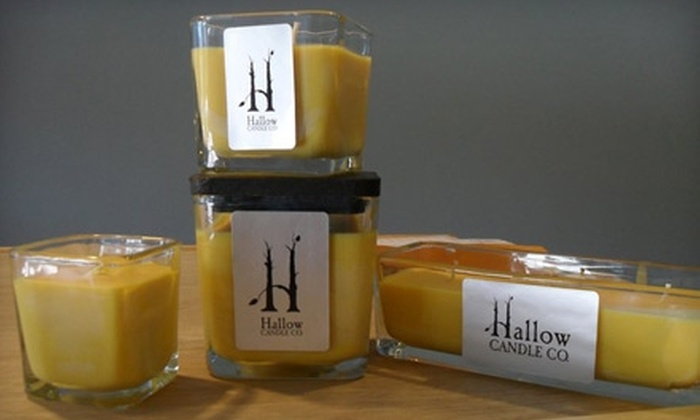 Hallow Candle Co. - Hartley: $10 for $20 Worth of Natural Candles and Handmade Goods at Hallow Candle Co.