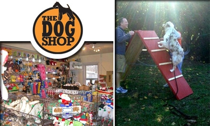 Dog Shop DC - Georgetown: $25 for $50 Toward Self-Service Dog Wash, Toys, Grooming, and More at The Dog Shop