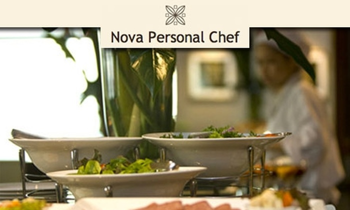 """NovaPersonalChef.com - Washington DC: $34 for Cooking Demo, Samples, and Recipes from Nova Personal Chef. Click Here to Buy a Ticket to """"Cheap and Easy in the Kitchen"""" on January 9 at 3 p.m. See Below for Other Showtimes."""