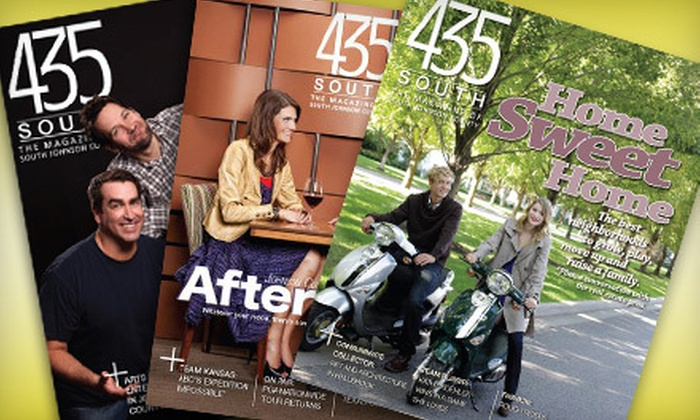 "435 South Magazine - Kansas City: $10 for Two-Year Subscription to ""435 South Magazine"" ($94.80 Value)"
