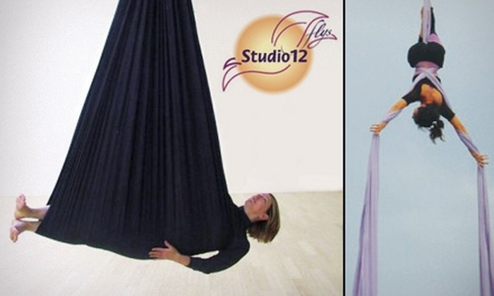 Studio 12 Flys  - Southwst Berkeley: $10 for One Aerial and Trapeze Class at Studio 12 Flys