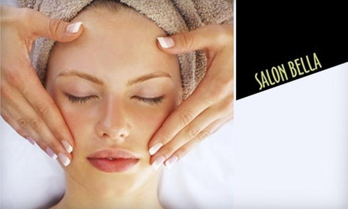 Salon Bella - Chesterfield: $28 for a Deluxe Facial at Salon Bella ($95 Value)