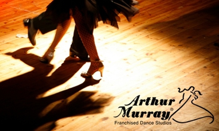 Arthur Murray Dance Studio - Multiple Locations: $49 for Two Private Ballroom Dance Lessons and One Group Class at Arthur Murray Dance Studio (Up to $146 Value)