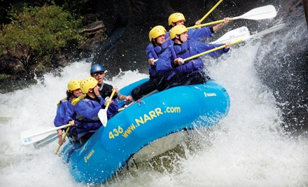 North American River Runners: Monday Lower Gauley Whitewater-Rafting Trip for 2 People Plus 2 Nights of Camping  - North American River Runners in Minden