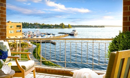 1-Night Weekday Stay Sunday-Thursday in a Classic Room For Up to Four - Woodmark Hotel in Kirkland