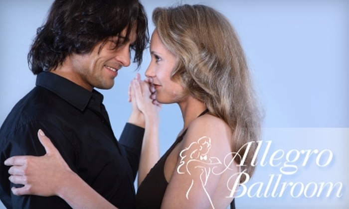 Allegro Ballroom - Emeryville: $60 for a Ballroom-Dance Package at Allegro Ballroom Plus Two Additional Parties and Four Additional Dance Classes in the First Month