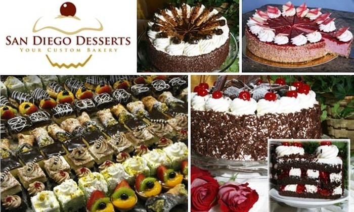 San Diego Desserts - El Cerrito: $15 Worth of Food, Dessert & Wine at San Diego Desserts