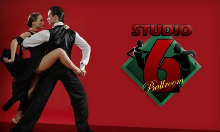Studio 6 Ballroom - North End: $79 for Two 55-Minute Private Dance Lessons for One or Two People ($180 Value) or $59 for One Month of Couples' Group Classes at Studio 6 Ballroom in Tacoma (Up to $120 Value)