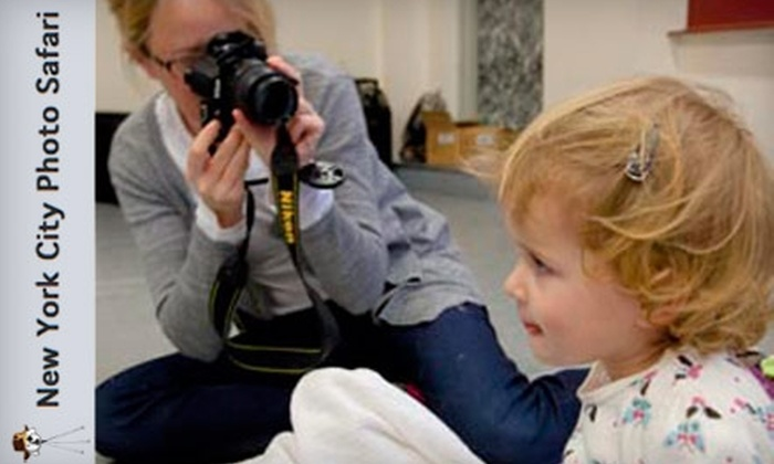 New York City Photo Safari - Garment District: $65 for a 90-Minute Candid Kids Photo Safari with New York City Photo Safari ($160 Value)