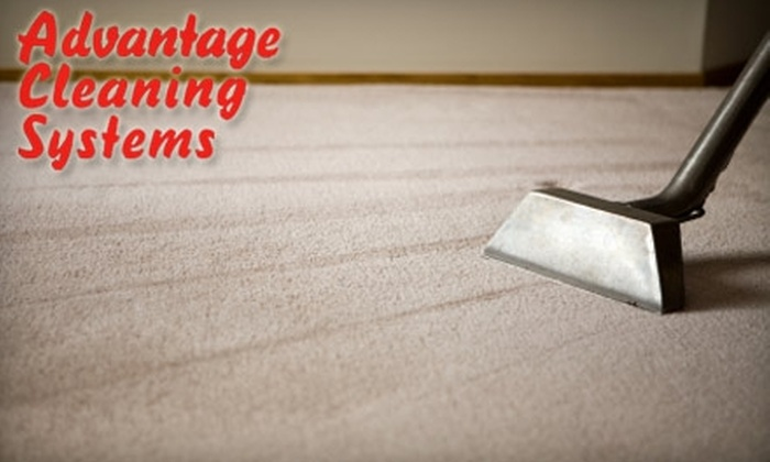 Advantage Cleaning Systems - Salt Lake City: $49 for Three Rooms and One Hallway of Carpet Cleaning at Advantage Cleaning Systems (Up To $120 Value)