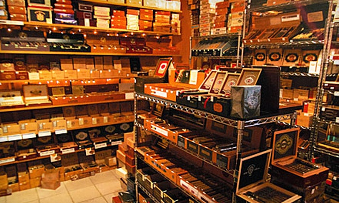 J Shepherd Cigars - Cherokee Triangle: $20 for $40 Worth of Cigars and Accessories or a Cigar Aficionado World Sampler at J Shepherd Cigars