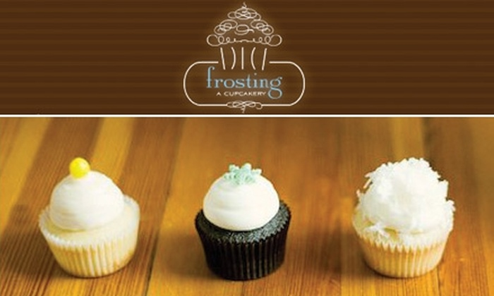 Frosting-A Cupcakery - AU Park - Friendship Heights - Tenley: $7 for $15 Worth of Cupcakes, Pastries, Coffee, and More from Frosting – A Cupcakery