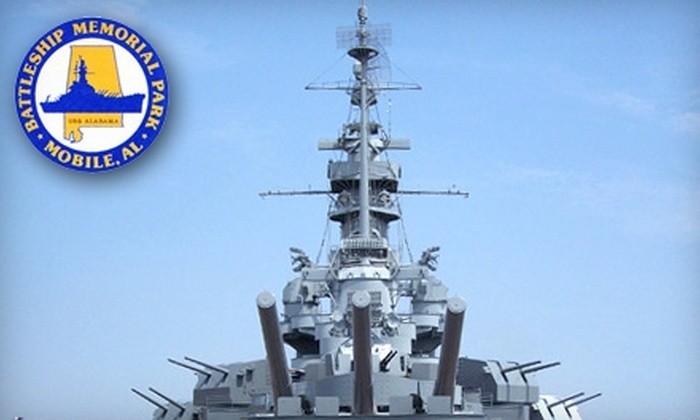USS Alabama Battleship Memorial Park - Spanish Fort: $11 for Two Adult Tickets to USS Alabama Battleship Memorial Park ($24 Value)