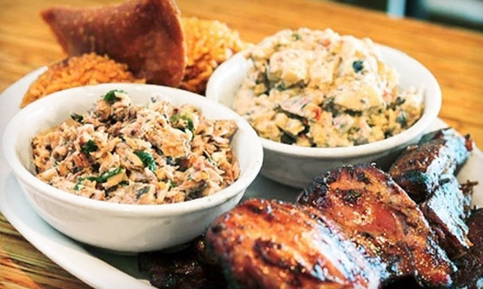 Guahan Grill - Ivey Ranch / Rancho Del Oro: $12 for $25 Worth of Island-Fusion Fare at Guahan Grill in Oceanside