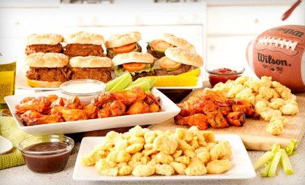 Groupon Goods - Football Party Platter in