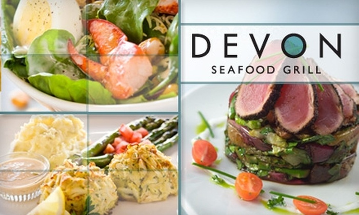 Devon's Seafood - Near North Side: $20 for $50 Worth of Fresh Seafood Fare and Non-Alcoholic Drinks at Devon Seafood Grill