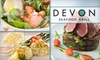 Devon's Seafood / Houlihans - Near North Side: $20 for $50 Worth of Fresh Seafood Fare and Non-Alcoholic Drinks at Devon Seafood Grill