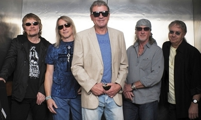 Deep Purple at the Sleep Train Pavilion - Concord: One Ticket to Deep Purple and Special Guest Joe Satriani on June 25 at 7 p.m. at the Sleep Train Pavilion at Concord