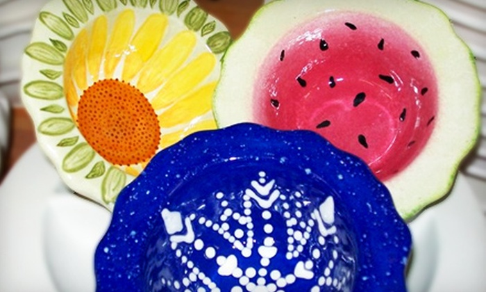 The Pottery Paintin' Place - Lunenburg: $15 for $30 Worth of Paint-Your-Own Pottery at The Pottery Paintin' Place in Lunenburg