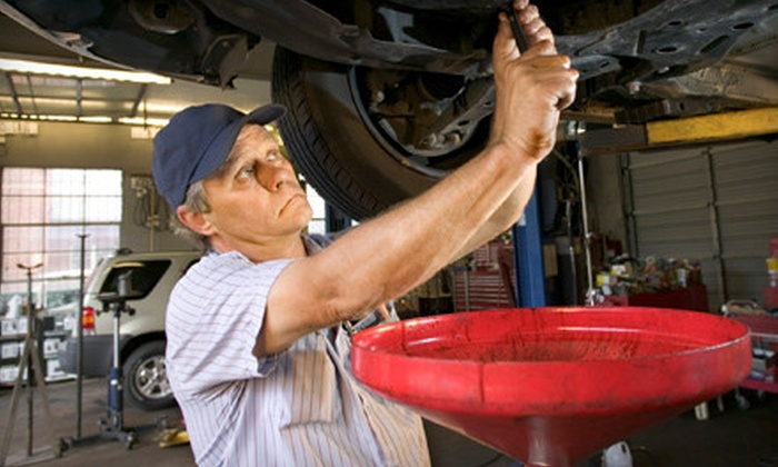 Hunter Auto Group - Multiple Locations: $20 for Castrol GTX Oil Change, Filter, and Tire Rotation at Hunter Auto Group ($59.95 Value)